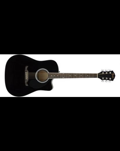 Fender® FA-125CE Dreadnought, Black