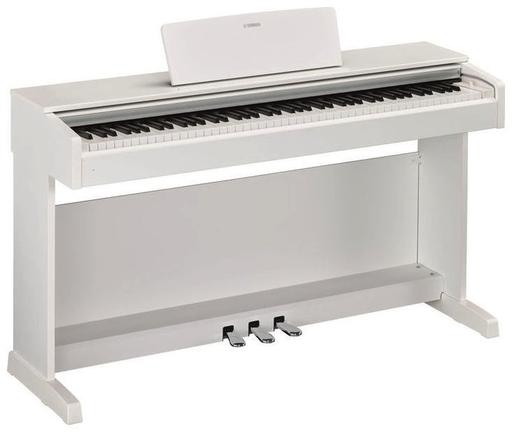 yamaha arius ydp 143 digitaalipiano valkoinen. Black Bedroom Furniture Sets. Home Design Ideas