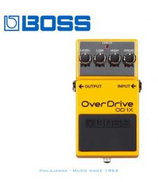 Boss OD-1X Overdrive, digitaalinen kompressointi, Boss Multi-Dimensional Processing
