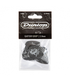 Jim Dunlop Plektrapussi 12kpl,  Gator Grip Std 2,00mm