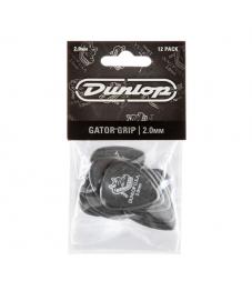 Jim Dunlop Plektrapussi 12kpl,  Gator Grip Std 2,00mm