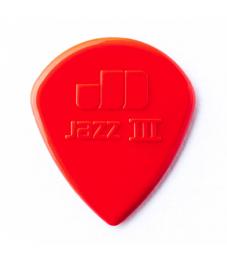 Jim Dunlop Plektrapussi 6kpl,  Jazz III Nylon