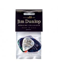 Jim Dunlop Plektrapussi 12kpl,  Variety Pack Celluloid Medium