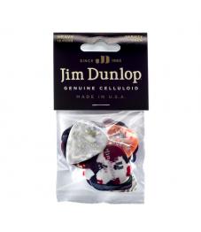Jim Dunlop Plektrapussi 12kpl,  Variety Pack Celluloid Heavy