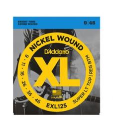 Daddario sähkökitarankielisarja, Nickel Wound, 009-046