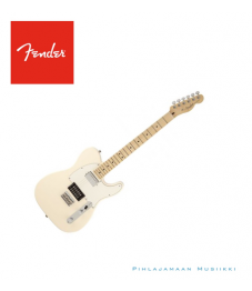 Fender® American Standard Telecaster® HH, Maple Fingerboard, Olympic White @Pori