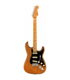 Fender® American Pro II Stratocaster, MN, Roasted Pine + Deluxe case