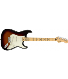 Fender® Player Stratocaster®, Maple Fingerboard, 3-Color Sunburst, No Bag