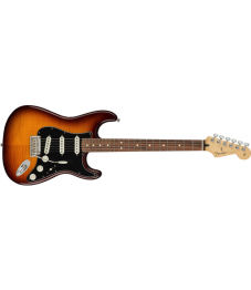 Fender® Player Stratocaster® Plus Top, Pao Ferro Fingerboard, Tobacco Burst, No Bag