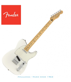 Fender® Player Telecaster®, Maple Neck, Polar White, No Bag