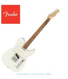 Fender® Player Telecaster®, Pao Ferro Fingerboard, Polar White, No Bag