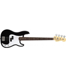 Fender® American Standard Precision Bass®, Rosewood Fingerboard, Alder body,  Black @Rauma