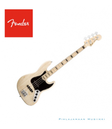 Fender® American Deluxe Jazz Bass® Ash, Maple Fingerboard, Natural, 3-Ply B/W/B Pickguard
