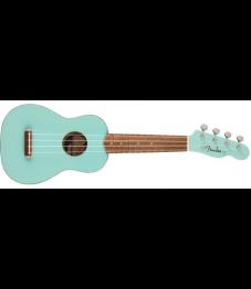 Fender Venice Ukulele sopraano, Daphne Blue