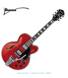 Ibanez Artcore AFS-75T, Transparent Cherry Red