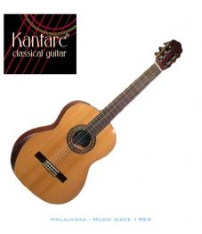 Kantare Brillante C klassinen kitara, Seetrikansi, LensResonanceSystem® @Rauma