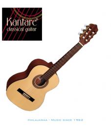 Kantare Poco S 57 3/4 kokoinen klassinen kitara, Kuusikansi, LensResonanceSystem®