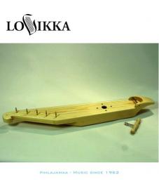 Lovikka Kantele 5-kielinen perinteinen metallitapeilla, Naturaali puunväri