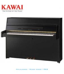 Kawai K-15 akustinen piano musta kiiltävä