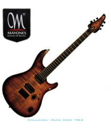 Mayones Regius 6 RW DBRN Dirty Brown Gloss