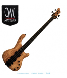 Mayones Prestige 4 Classic, Spalted Maple