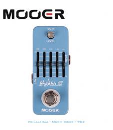 Mooer Graphic G 5-Alueinen Ekvalisaattori kitaralle (Maxon GE601)