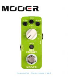 Mooer Mod Factory, 11 Modulaatioefektiä. MKII uusi versio