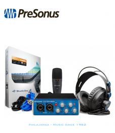 Presonus AudioBox USB96 Studio Bundle, sis Äänikortti, mikrofoni, kuulokkeet ja tarvikkeet