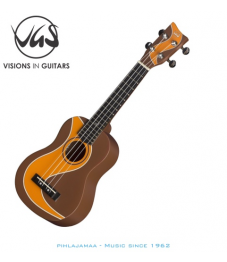 VGS Manoa Ukulele sopraano, Muddy Roads Brown