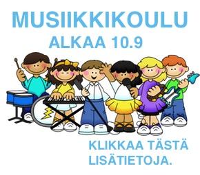Musiikkikoulu alkaa 10.9